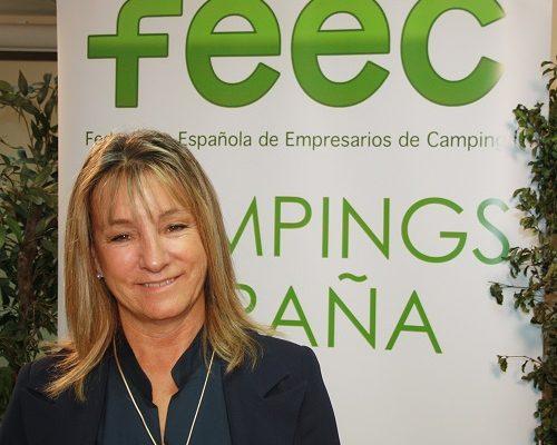 Ana Beriain, reelegida presidenta de los Campings de España por tercera vez