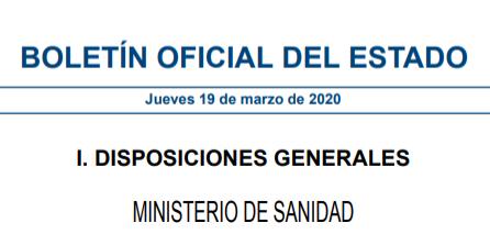 El Gobierno de España ordena el cierre de los campings hasta que termine el Estado de Alarma