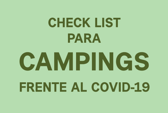 Check List para Campings frente al Covid-19